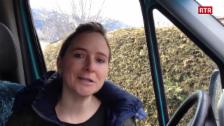 Laschar ir video «Pierina Bischofberger planisescha la ruta»