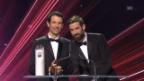 Video «Freitag-Brüder gewinnen den «SwissAward» in der Kategorie Wirtschaft» abspielen