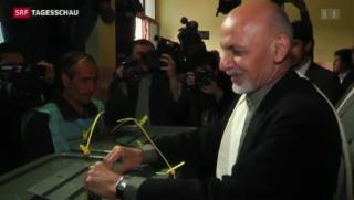 Video «Afghanistan wählt einen neuen Präsidenten » abspielen