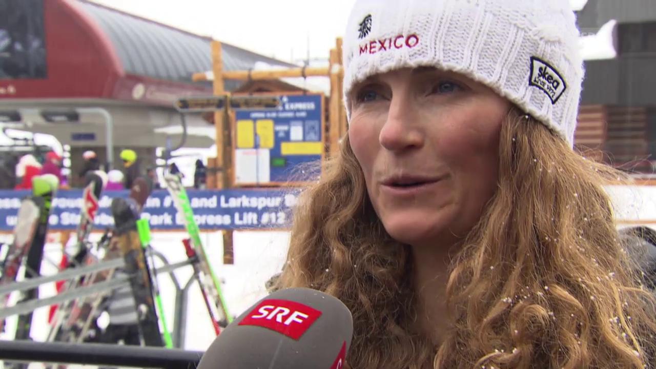 Ski alpin: WM in Vail/Beaver Creek, Sarah Schleper über ihr Comeback