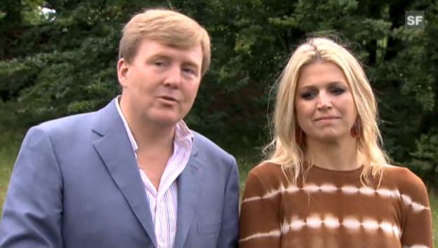 Video «Kronprinz Willem-Alexander über den Zustand von Prinz Friso» abspielen