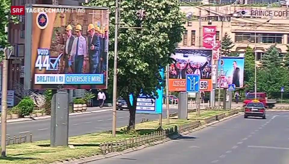 Wahlen im Kosovo