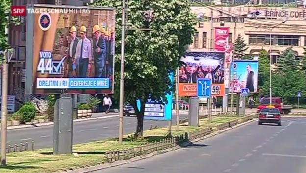 Video «Wahlen im Kosovo» abspielen