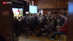 Video «Überzeugungsarbeit für Stilllegung AKW Mühleberg » abspielen