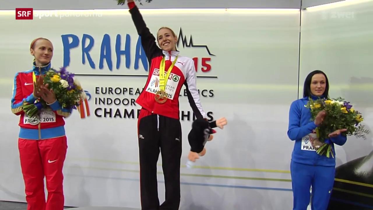 Leichtathletik: Büchel holt EM-Gold in Prag