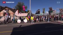 Video «Zürich-Oerlikon: Demo gegen Abtreibung» abspielen