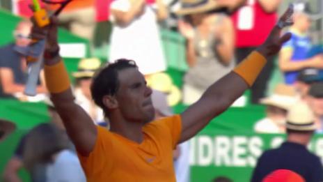 Link öffnet eine Lightbox. Video Klarer Sieg für Nadal abspielen