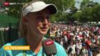 Video «Tennis: Das Schweizer Nachwuchs-Talent Jil Teichman» abspielen
