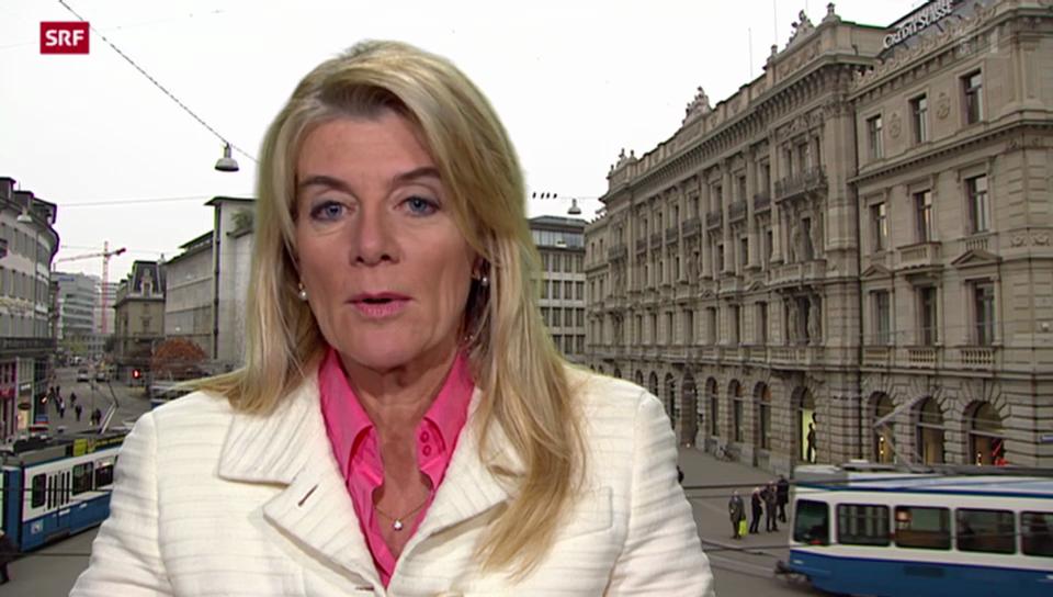 Einschätzungen von Marianne Fassbind, SFR-Wirtschaftsredaktorin