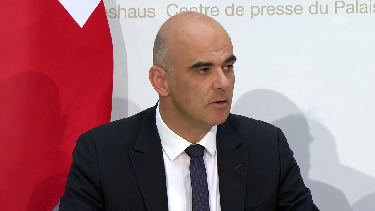 Bundesrat Berset: «Das Problem bleibt ungelöst»