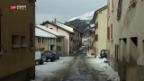 Video «Grenzdorf leidet unter Tunnelsperre» abspielen