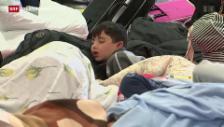 Video «Flüchtlinge in Österreich eingetroffen» abspielen