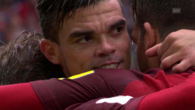 Video «Portugal gewinnt den kleinen Final» abspielen
