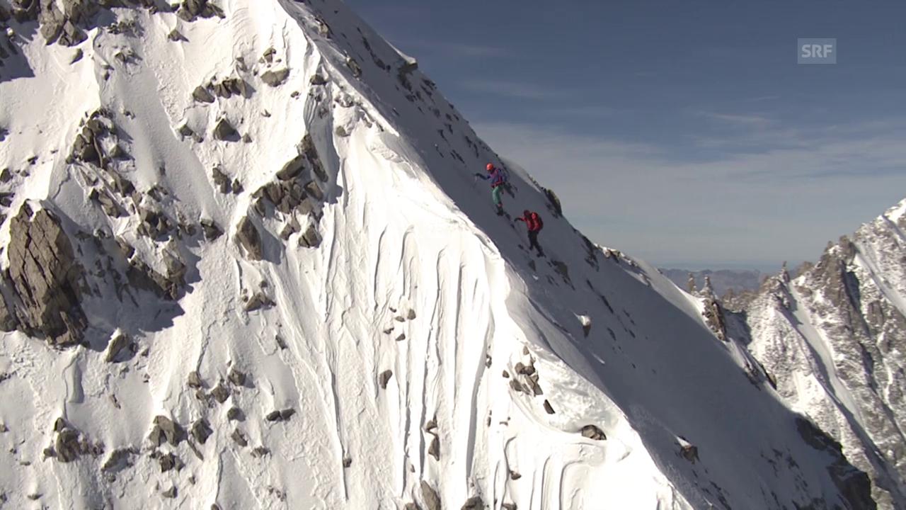 Cineflex-Kamera: Bilder aus den Alpen (G. Gafner/samcam.film)