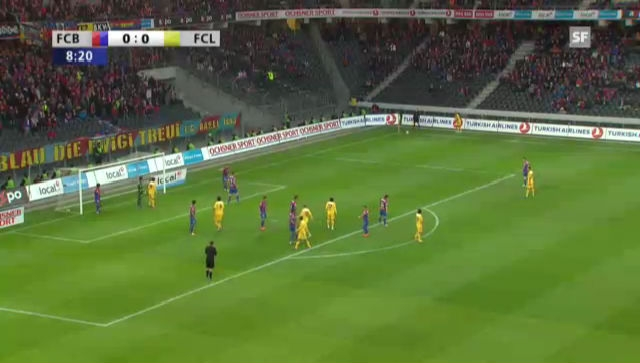 Highlights Basel - Luzern («sportlive»)