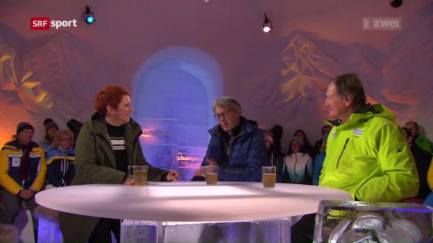 Video «Bernhard Russi gegen Franz Klammer» abspielen