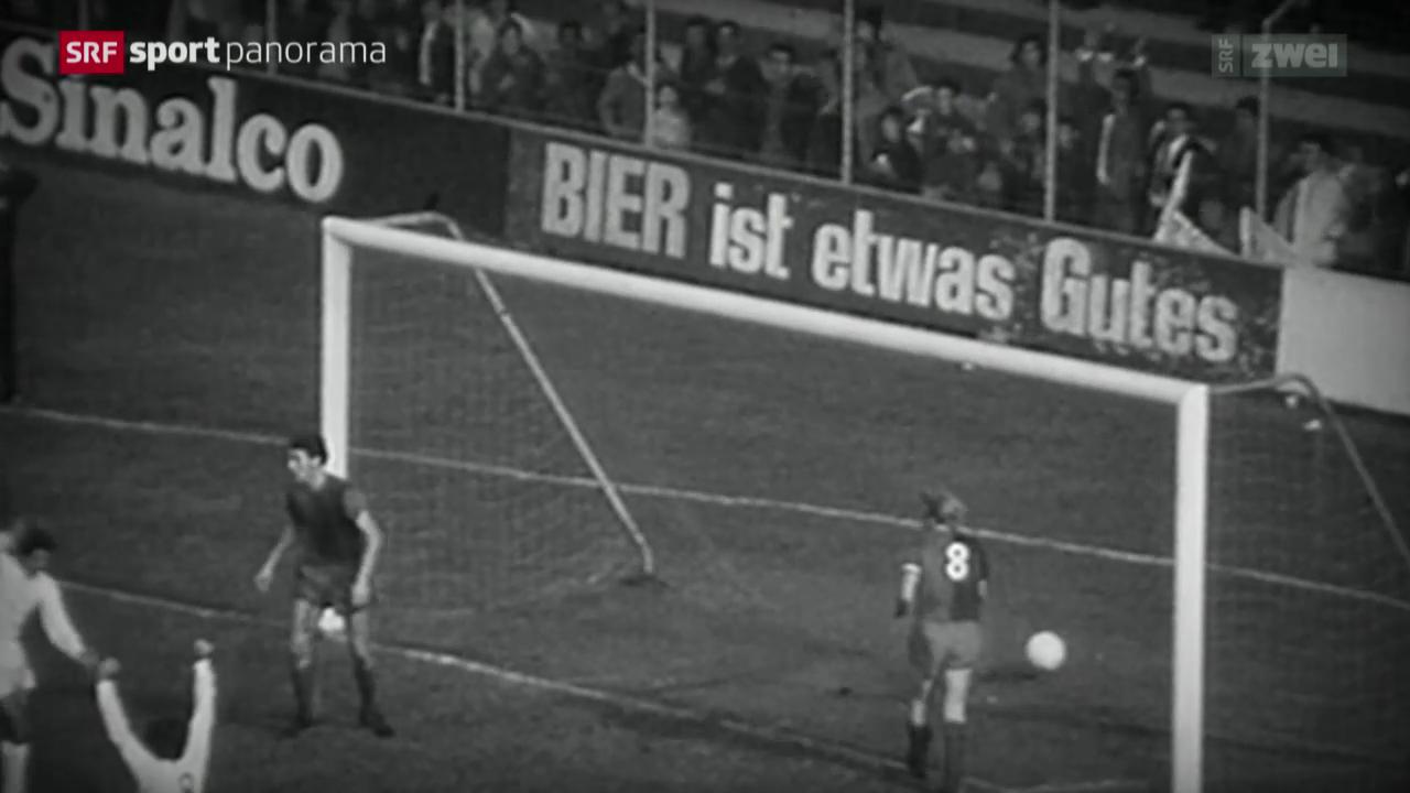 Fussball: FC Basel - Real Madrid vor 43 Jahren