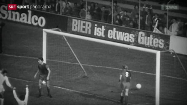Video «Fussball: FC Basel - Real Madrid vor 43 Jahren» abspielen