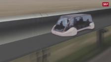 Link öffnet eine Lightbox. Video Reisen mit 1000 km/h abspielen