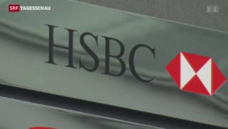 Video «Hausdurchsuchungen bei HSBC» abspielen