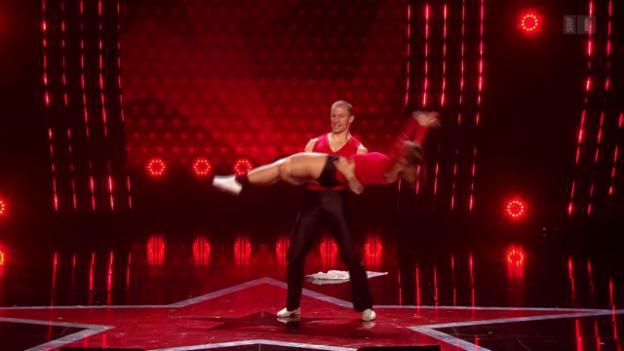 Video «Ioulia & Fabien tanzen Rock'n'Roll» abspielen