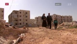 Video «Vorzeitige Feuerpause in Aleppo» abspielen