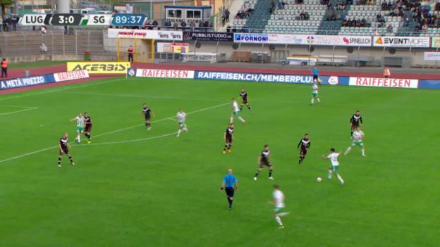 Video «Fussball: Super League, Tor durch Yannis Tafer» abspielen