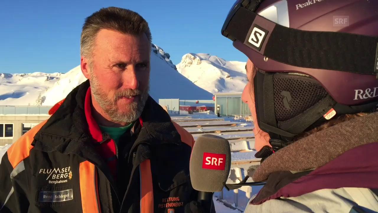 René Schlegel – der Erste auf dem Berg