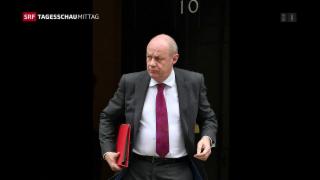 Video «Britischer Vize-Premierminister zurückgetreten » abspielen