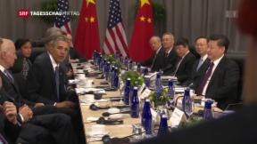 Video «Atomgipfel in Washington» abspielen