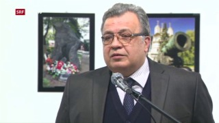 Video «Russischer Botschafter in Ankara erschossen» abspielen