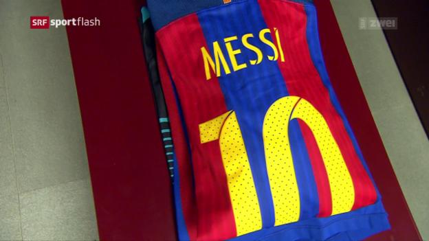 Video «Messi bleibt Barça treu» abspielen