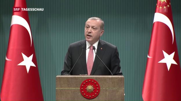Video «Ausnahmezustand in der Türkei» abspielen