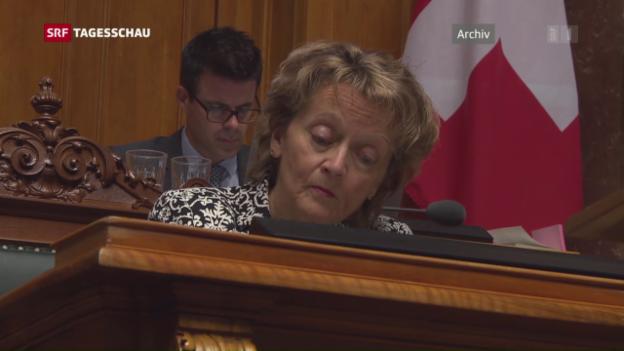 Video «Frühere Finanzministerin zur USR III» abspielen