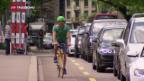 Video «Kopfhörer auf dem Velo sollen verboten werden» abspielen