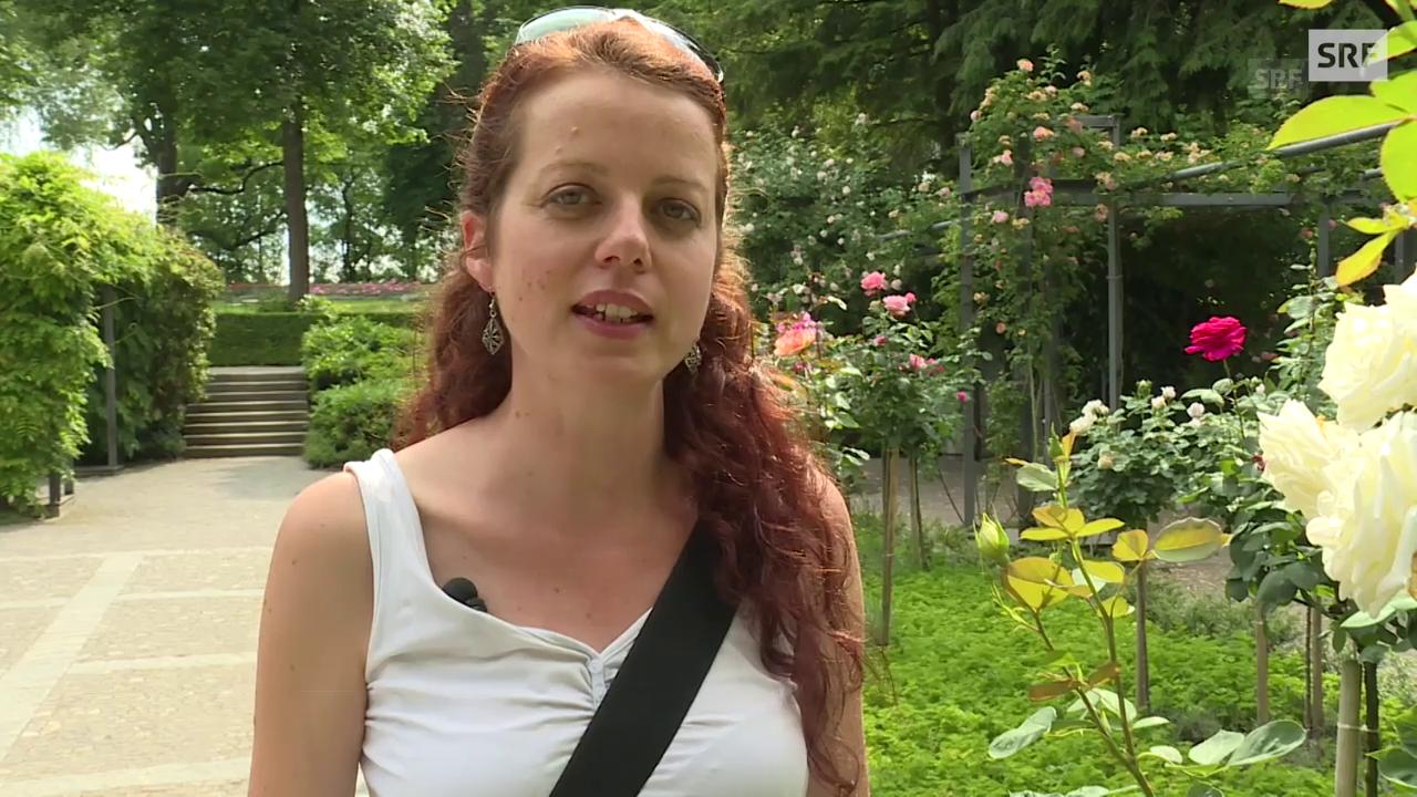 Porträt Andrea Reber (36), Bern