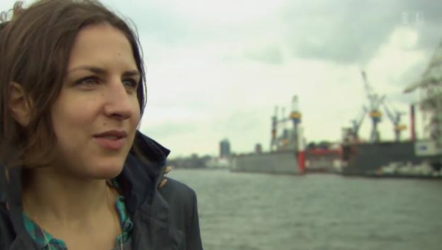 Video «Theaterautorin Laura de Weck wirbelt alte Sprachbilder auf» abspielen