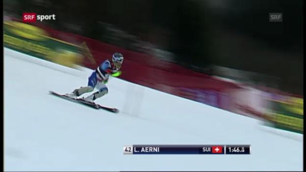 Video «Ski: Slalom Männer Kranjska Gora» abspielen