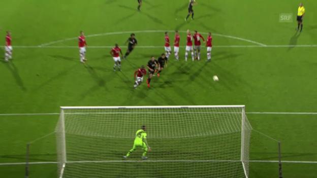 Video «Fussball: Europa League, Zusammenfassung Alkmaar - Augsburg» abspielen