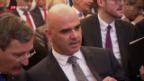 Video «Alain Berset vor der Wahl zum Bundespräsidenten» abspielen