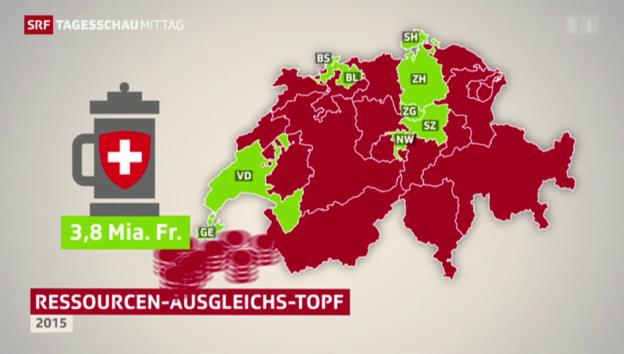 Video «NFA: Entlastung für reiche Kantone» abspielen
