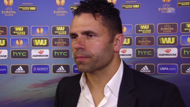 Video «Fussball: Europa League, Interview mit Uli Forte» abspielen