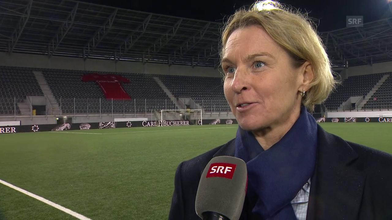 Voss-Tecklenburg: «Wir Trainer sind nie zufrieden»