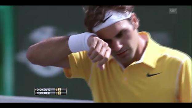 Video «Rückblick: Federer in Indian Wells» abspielen