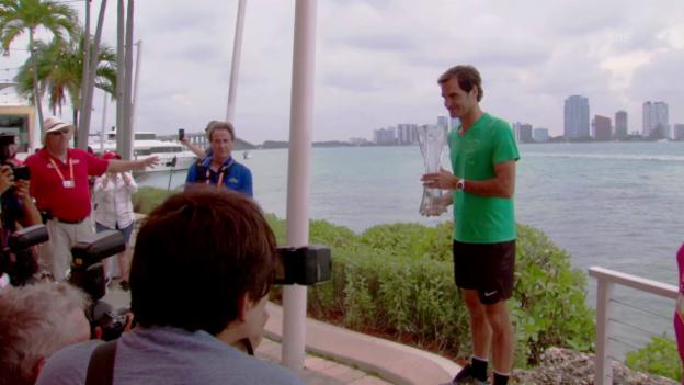 Video «Federer: «Das habe ich nur in meinen besten Jahren geschafft»» abspielen