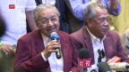 Video «Malaysia mit neuem altem Regierungschef» abspielen