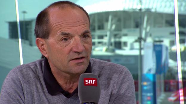 Video «Sotschi: Chef de Mission Gian Gilli zieht Bilanz (sotschi direkt, 23.2.14)» abspielen