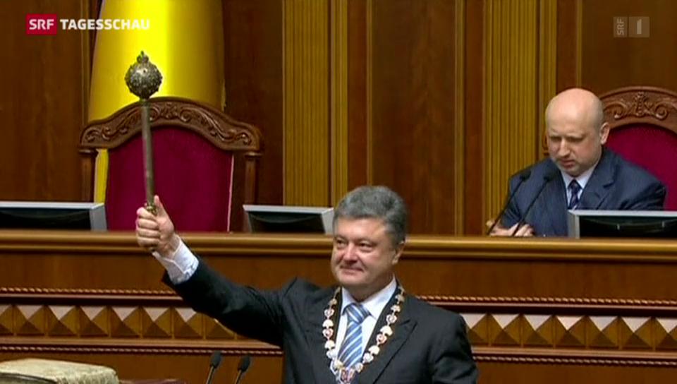 Vereidigung von Petro Poroschenko