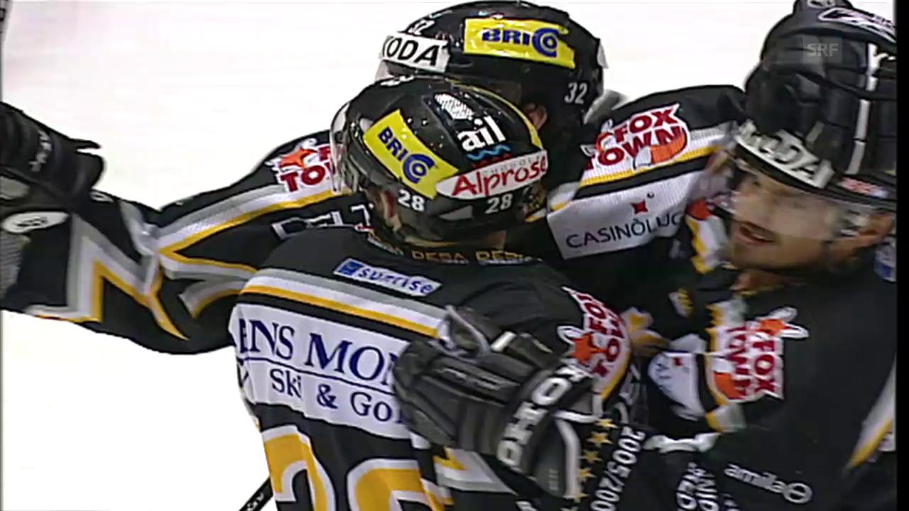 Final 2006: Lugano dominiert Spiel 1