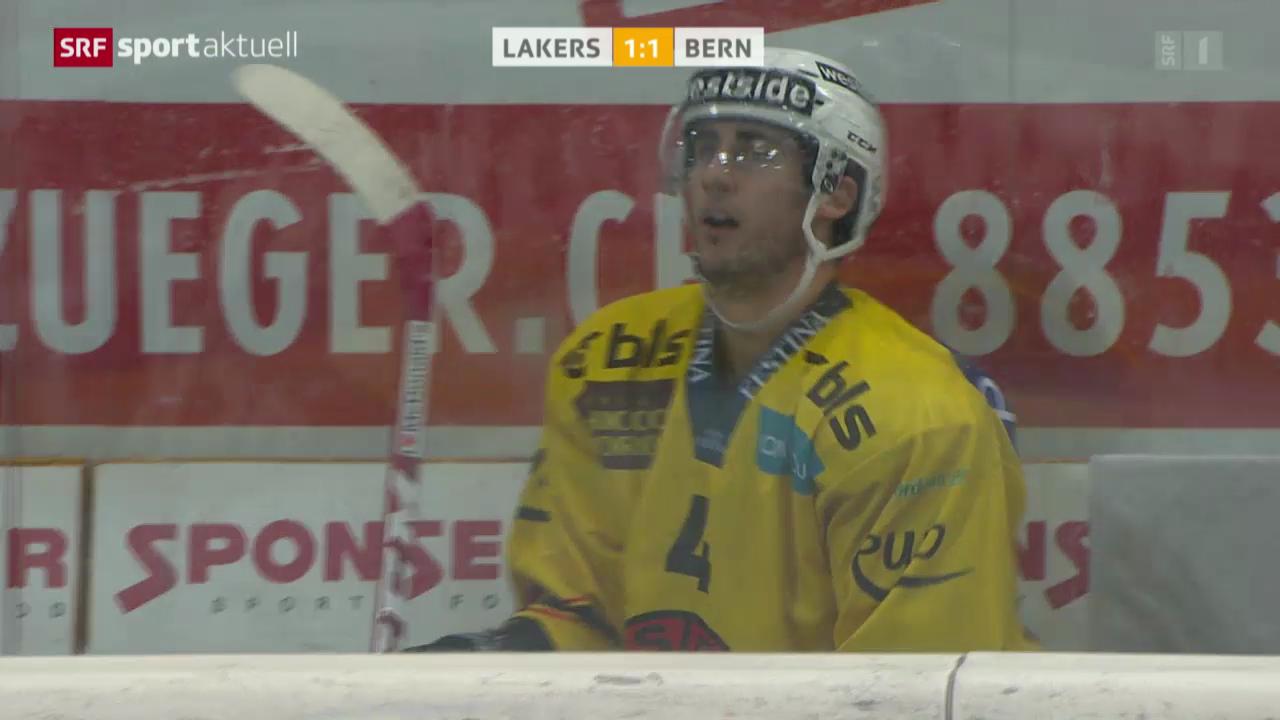 Eishockey: NLA, Lakers - Bern